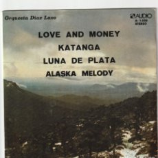Discos de vinilo: ORQUESTA DIAZ LASO - LOVE AND MONEY + 3 (EP AUDIO 1975) VINILO COMO NUEVO. Lote 134767894