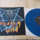 Discos de vinilo: RUNNING WILD - VICTIM OF STATE POWER -LP BLUE VINYL 2014 - MIND NUEVO - SPEED HEAVY METAL. Lote 134768102