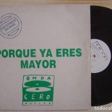 Discos de vinilo: BROTHER MORSE - LOS AÑOS QUE NOS QUEDAN POR VIVIR - MAXI SINGLE PROMOCIONAL - ONDA CERO. Lote 134774434