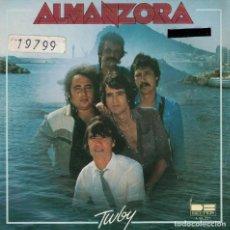 Disques de vinyle: ALMANZORA - TWBY / JUDITH (SINGLE ESPAÑOL, BELTER 1981). Lote 134785042