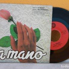 Discos de vinilo: DISCO SENCILLO DE CANELA PROMOCIONANDO EL AVECREM. Lote 134792750