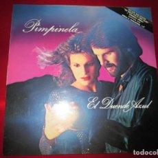 Discos de vinilo: LP-EL DUENDE AZUL-PIMPINELA-(EPIC 450344 1)-1986-10 TEMAS-FUNDAS EXTERIOR E INTERIOR-VER FOTOS. Lote 134805646