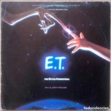 Discos de vinilo: E.T. / THE EXTRA TERRESTRIAL - STEVEN SPIELBERG / JOHN WILLIAMS / BSO - LP MCA 1982 SPAIN. Lote 134824522