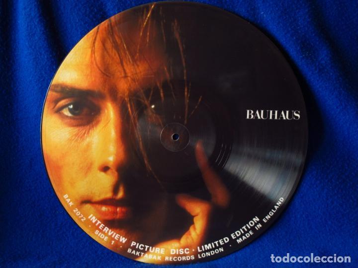BAUHAUS - LP 19¿? - INTERVIEW PICTURE DISC LIMITED EDITION - UNOFFICIAL RELEASE (Música - Discos - LP Vinilo - Pop - Rock - New Wave Extranjero de los 80)