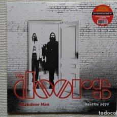 Discos de vinilo: THE DOORS '' BACKDOOR MAN - SEATLE 70 '' 2 LP EU 2016 SEALED. Lote 134830250