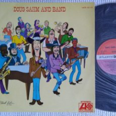 Discos de vinilo: DOUG SAHM AND BAND - '' S/T '' LP 1ST PRESSING 1973 SPAIN. Lote 134831158