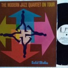 Discos de vinilo: THE MODERN JAZZ QUARTET - '' ON TOUR '' LP GATEFOLD 1975 STEREO SPAIN. Lote 134832814