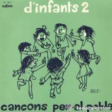 Discos de vinilo: L'ESQUELLERINC DEL COR MADRIGAL ?– D'INFANTS 2 - EP SPAIN 1974. Lote 134832826