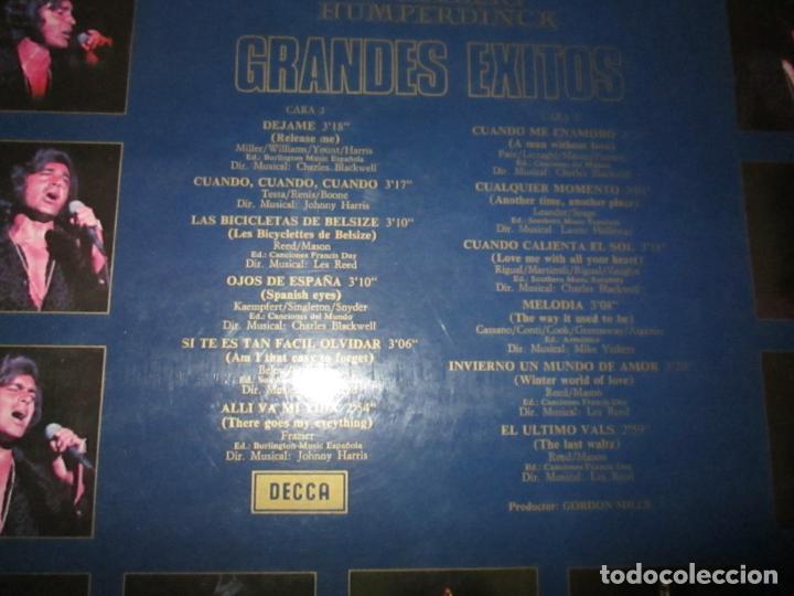 Discos de vinilo: LP-ENGELBERT HUMPERDINCK HIS GREATEST HITS-DECCA(SLK 5198)-1975-BUEN ESTADO-VER FOTOS - Foto 2 - 134832982