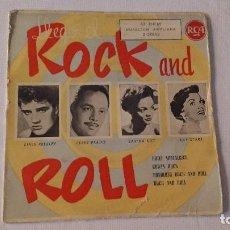 Discos de vinilo: EP A 45 RPM DEL CANTANTE NORTEAMERICANO DE ROCK AND ROLL ELVIS PRESLEY. Lote 134833310