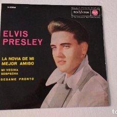 Discos de vinilo: EP A 45 RPM DEL CANTANTE NORTEAMERICANO DE ROCK AND ROLL ELVIS PRESLEY. Lote 134833466