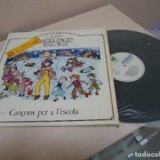 Discos de vinilo: 1,2,3, SALTA PAGES -XESCO BOIX- CANCONS PER A L,ESCOLA -LA GRANOTA- 1982- BCN. Lote 134833718