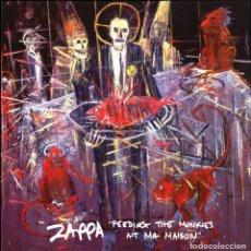 Discos de vinilo: FRANK ZAPPA * LP NARANJA AMARMOLADO * FEEDING THE MONKIES AT MA MAISON * PRECINTADO!!. Lote 194509991
