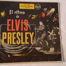 Discos de vinilo: EP A 45 RPM DEL CANTANTE NORTEAMERICANO DE ROCK AND ROLL ELVIS PRESLEY. Lote 134837530