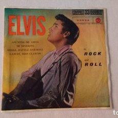 Discos de vinilo: EP A 33 RPM DEL CANTANTE NORTEAMERICANO DE ROCK AND ROLL ELVIS PRESLEY. Lote 134837758