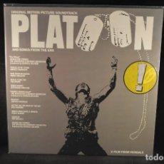 Discos de vinilo: PLATOON - BANDA SONORA ORIGINAL - LP. Lote 134846690