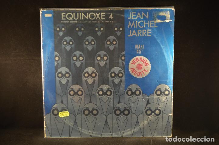 JEAN MICHEL JARRE - EQUINOXE 4 - MAXI (Música - Discos de Vinilo - Maxi Singles - Electrónica, Avantgarde y Experimental)