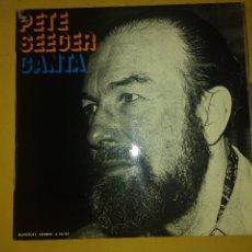 Discos de vinilo: LP PETE SEEGER. Lote 134865022