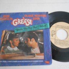 Discos de vinilo: GREASE-SINGLE-BSO. Lote 134866126