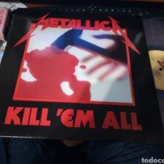 Discos de vinilo: METALLICA LP KILL 'EM ALL VINILO DE COLOR. Lote 139780668