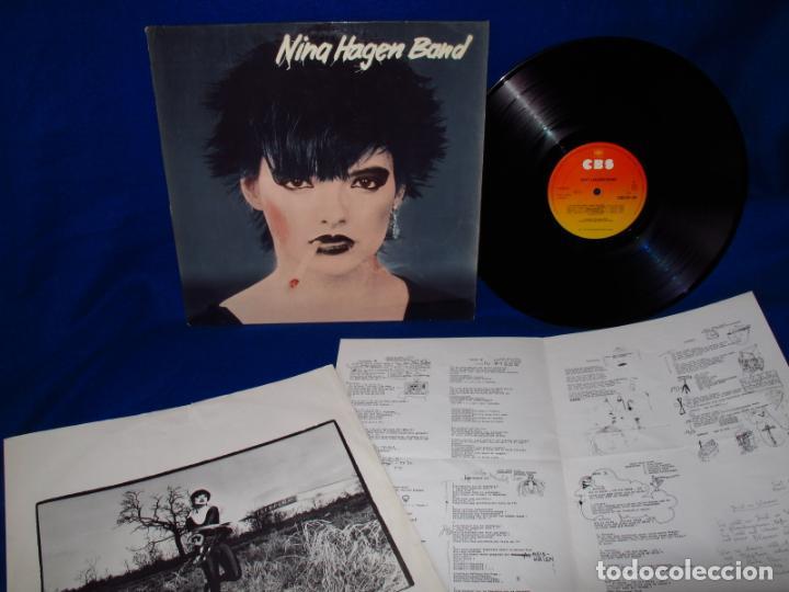 NINA HAGEN - NINA HAGEN BAND - LP 1978 - INSERTO CON FOTOS + 4 PAGINAS CON LAS LETRAS - (Musik - Vinyl-Schallplatten - EPs - Pop - Rock International der 70er Jahre)