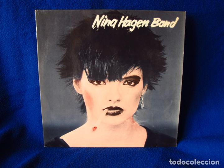 Vinyl-Schallplatten: NINA HAGEN - NINA HAGEN BAND - LP 1978 - INSERTO CON FOTOS + 4 PAGINAS CON LAS LETRAS - - Foto 3 - 134871198