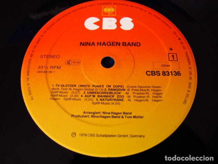 Vinyl-Schallplatten: NINA HAGEN - NINA HAGEN BAND - LP 1978 - INSERTO CON FOTOS + 4 PAGINAS CON LAS LETRAS - - Foto 6 - 134871198