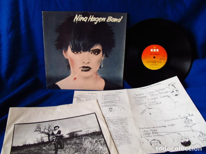 Vinyl-Schallplatten: NINA HAGEN - NINA HAGEN BAND - LP 1978 - INSERTO CON FOTOS + 4 PAGINAS CON LAS LETRAS - - Foto 11 - 134871198