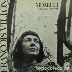 Discos de vinilo: MORELLI MUSIQUE DE LEONARDI – FRANCOIS VILLONL (FRANCE, SIN FECHA). Lote 134876706