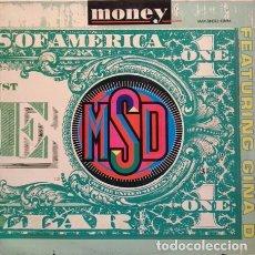 Discos de vinilo: MSD – MONEY( ESPAÑA, 1990). Lote 134876918