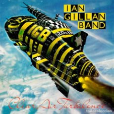 Discos de vinilo: IAN GILLAN BAND DEEP PURPLE LP 180G VINILO COLOR PÚRPURA * CLEAR AIR TURBULENCE * RARE NUEVO * LTD. Lote 200775130