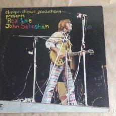 Discos de vinilo: JOHN SEBASTIAN. REAL LIVE. REPRISE, USA 1971 LP VINILO. EDICIÓN PROMOCIÓN. Lote 134878930