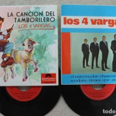 Discos de vinilo: LOTE 2 EP LOS 4 DE VARGAS VINILOS MADE IN SPAIN 1967/1968. Lote 134882922