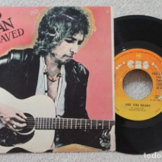 Discos de vinilo: BOB DYLAN SAVED SINGLE VINYL MADE IN SPAIN 1980. Lote 134883466