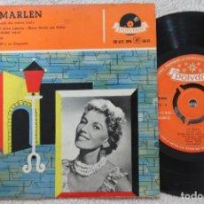 Discos de vinilo: LALE ANDERSEN LILI MARLEN EP VINYL MADE IN SPAIN 1958. Lote 134885750