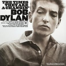 Discos de vinilo: LP BOB DYLAN THE TIMES THEY ARE A-CHANGIN' VINILO FOLK COUNTRY. Lote 134891890