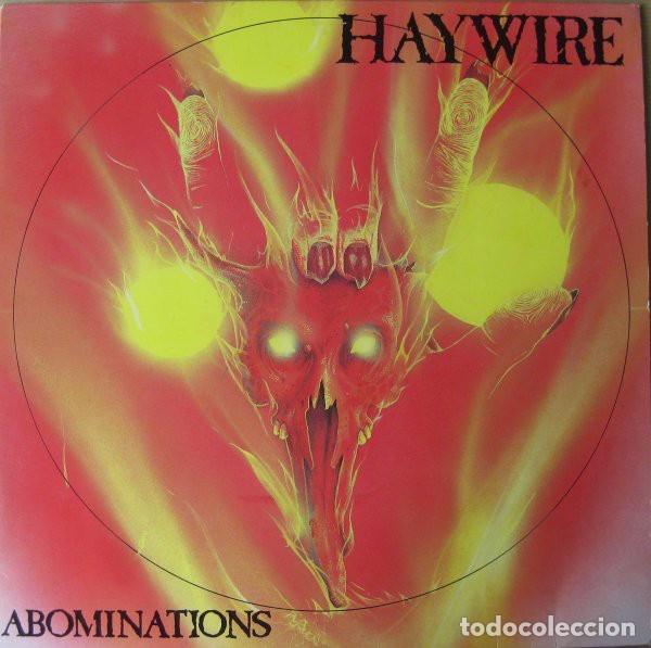 HAYWIRE – ABOMINATIONS- LP VINYL 1990 GERMANY - HARDCORE METAL (Música - Discos - LP Vinilo - Heavy - Metal)