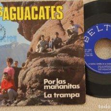 Discos de vinilo: LOS AGUACATES POR LAS MAÑANITAS SINGLE VINYL MADE IN SPAIN 1967 PROMOCIONAL. Lote 134892510