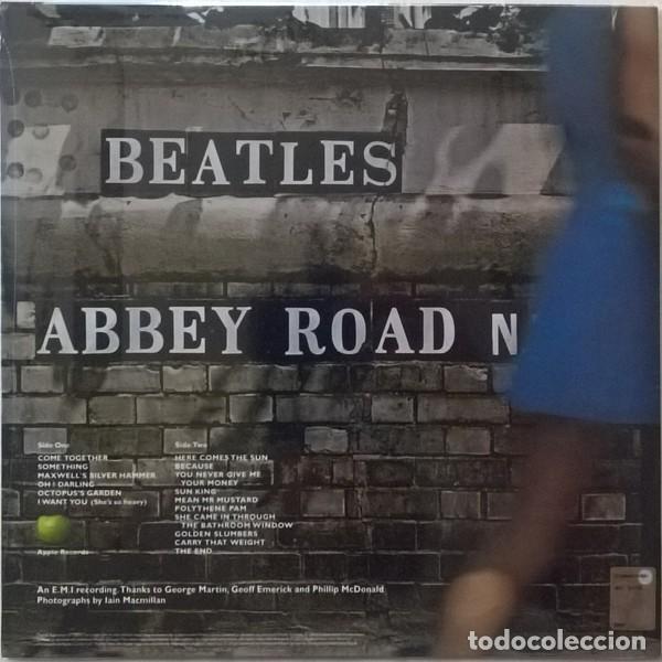 Discos de vinilo: The Beatles – Abbey Road - 2017 Vinyl, LP, Reissue, SPAIN - SIN PRECINTAR - Foto 2 - 134895146