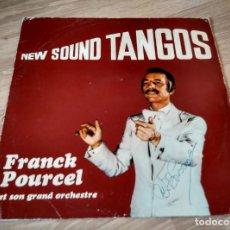 Discos de vinilo: NEW SOUND TANGOS - FRANCK POURCEL. Lote 134900990