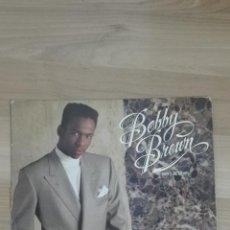 Disques de vinyle: BOBBY BROWN - DON'T BE CRUEL . LP . 1988 MCA RECORDS - LP25593-1 MAXI 2292-57294-0. Lote 134903630