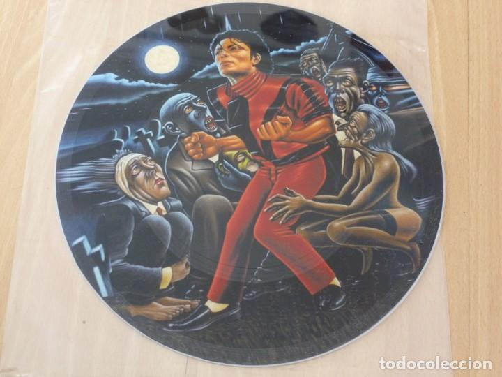 MICHAEL JACKSON THRILLER MAXI SINGLE JAPAN TEST SAMPLER PICTURE DISC MINT (Música - Discos de Vinilo - Maxi Singles - Pop - Rock - New Wave Extranjero de los 80)