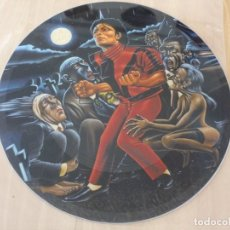 Discos de vinilo: MICHAEL JACKSON THRILLER MAXI SINGLE JAPAN TEST SAMPLER PICTURE DISC MINT. Lote 134906038