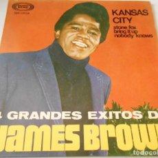 Discos de vinilo: JAMES BROWN - 4 GRANDES EXITOS -, EP, KANSAS CITY + 3, AÑO 1967. Lote 134906694