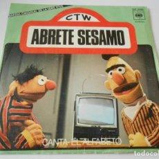 Discos de vinilo: ABRETE SESAMO, SG, CANTA + 1, AÑO 1976. Lote 134907134