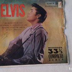 Discos de vinilo: EP A 33 RPM DEL CANTANTE NORTEAMERICANO DE ROCK AND ROLL ELVIS PRESLEY. Lote 134911154