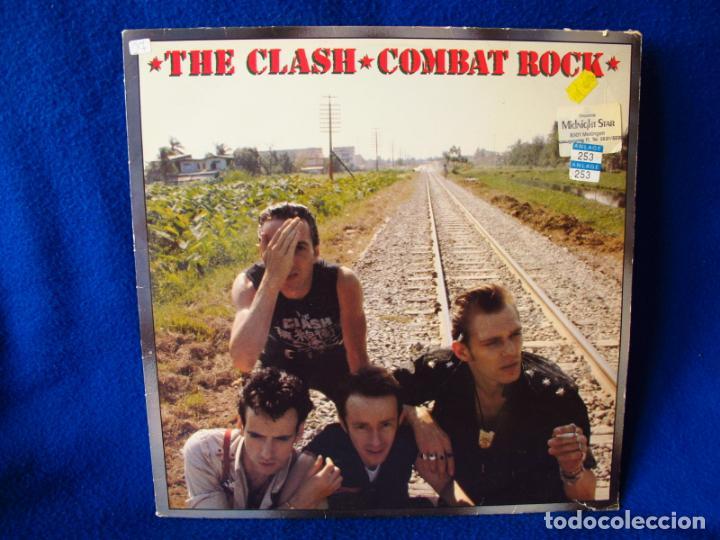 Discos de vinilo: THE CLASH - COMBAT ROCK - LP EDICION HOLANDESA 1982 - INCLUYE INSERTO CON LAS LETRAS VG / EX - Foto 3 - 134917366