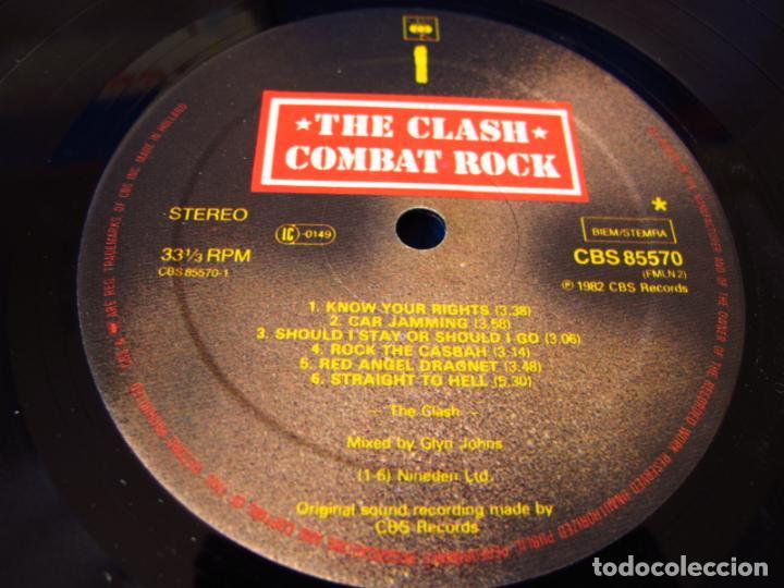Discos de vinilo: THE CLASH - COMBAT ROCK - LP EDICION HOLANDESA 1982 - INCLUYE INSERTO CON LAS LETRAS VG / EX - Foto 5 - 134917366