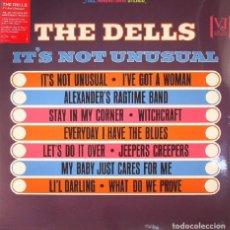 Discos de vinilo: THE DELLS * LP 180G * LTD * IT'S NOT UNUSUAL * RARE * PRECINTADO!!. Lote 134918018