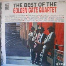 Discos de vinilo: THE BEST OF THE GOLDEN GATE QUARTET. Lote 134921654